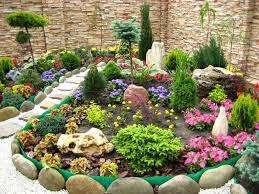 Вам понадобятся: камни песок, земля, дерн или торф, перегной и сами растения, которые будут размещены на горк