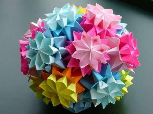 оригами поделки к новому году