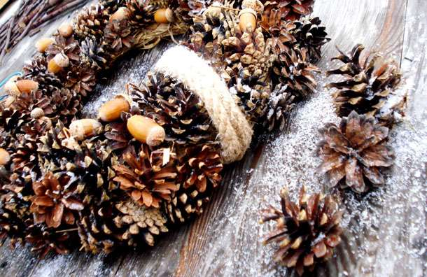 поделки из сосновых шишек