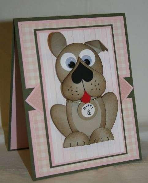 открытка с новым годом с собакой