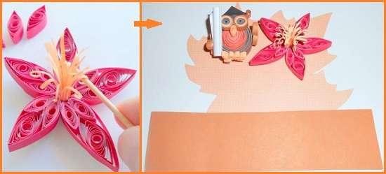 поделки из бумаги сова