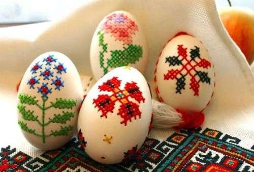 поделки из яичной скорлупы для детей