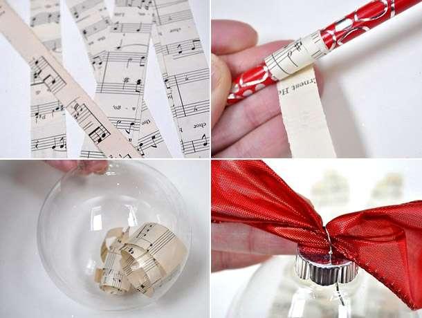 как сделать новогоднюю игрушку своими руками поэтапно