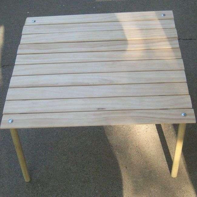 Как сделать мобильный стол для дома и для пикника на природе