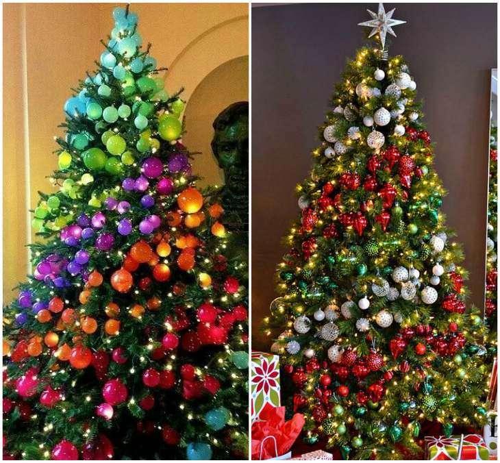2019 каким цветом наряжать елку