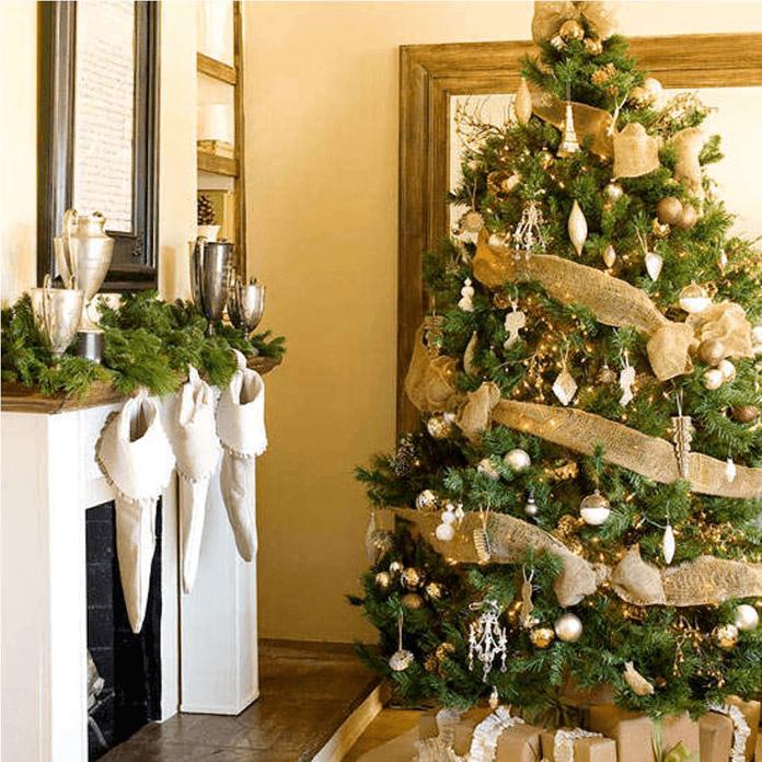 2019 год как украсить елку