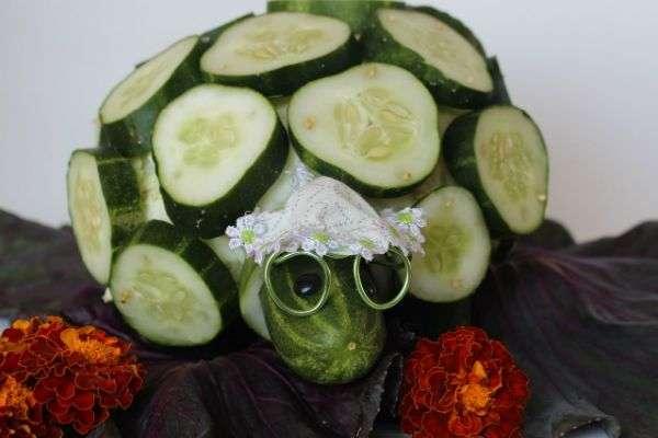 поделки на осенний бал из овощей