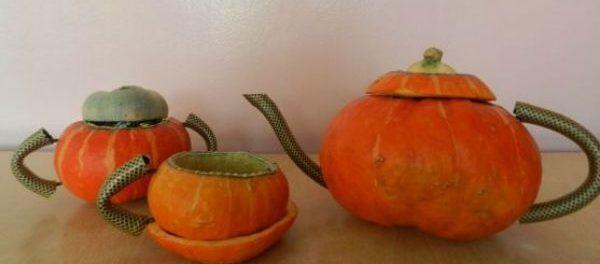 осенняя фантазия поделки из овощей