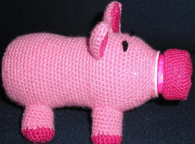 детские поделки свинья