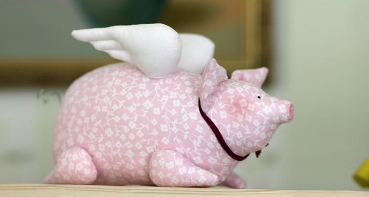 поделка свинья фото