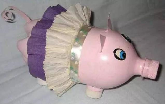 новогодние поделки на год свиньи