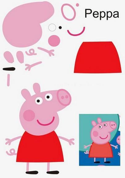 сделать поделку новогоднюю свинку