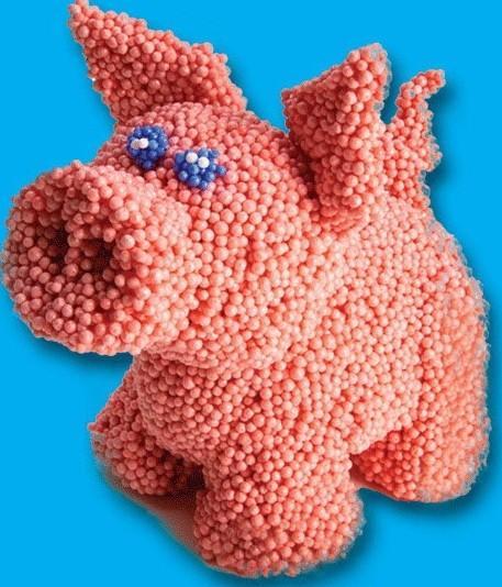 как сделать поделку свиньи