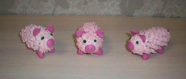 поделка свинья своими руками на новый год
