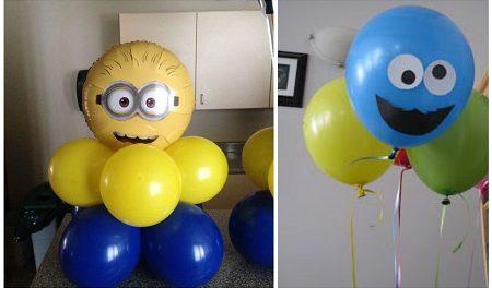 украсить шарами квартиру
