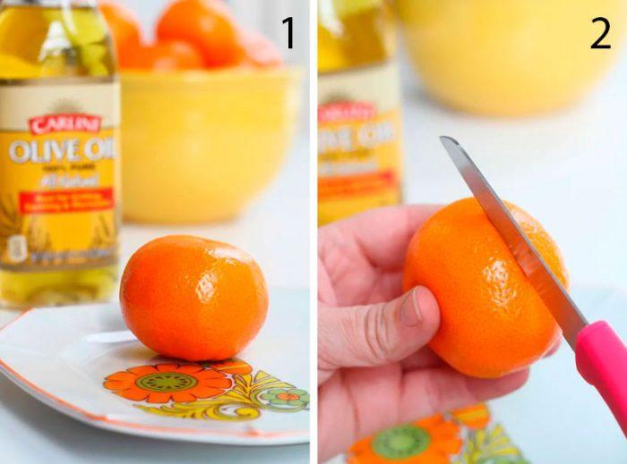 мандариновый декор